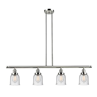 Aloysia 4-Light Kitchen Island Pendant Finish: Polished Nickel