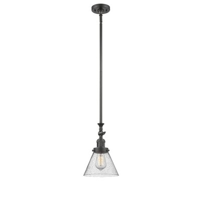 Fabio 1-Light Mini Pendant Finish: Oil Rubbed Bronze
