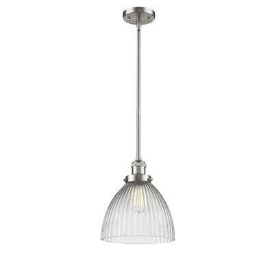 Deserie 1-Light Mini Pendant Finish: Brushed Satin Nickel