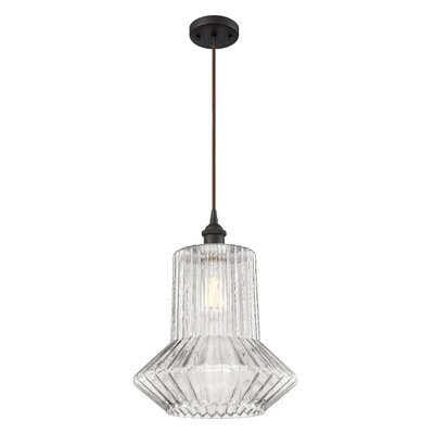 Deserie 1-Light Mini Pendant Finish: Oil Rubbed Bronze