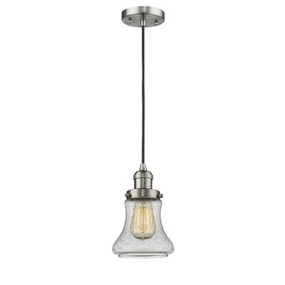 Nardone 1-Light Mini Pendant Color: Brushed Satin Nickel