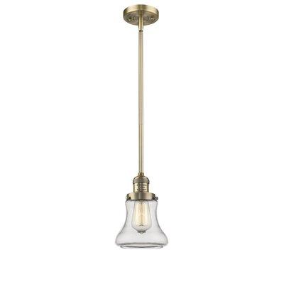 Nardone 1-Light Mini Pendant Color: Brushed Brass