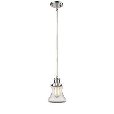 Aubrielle 1-Light Mini Pendant Finish: Polished Nickel