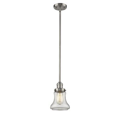 Aubrielle 1-Light Mini Pendant Finish: Brushed Satin Nickel