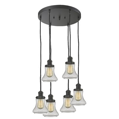 Nardone 6-Light Cluster Pendant Color: Oil Rubbed Bronze