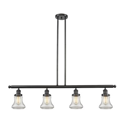 Aubrielle 4-Light Kitchen Island Pendant Finish: Oiled Rubbed Bronze