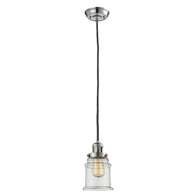 Donson 2-Light Mini Pendant Finish: Polished Nickel