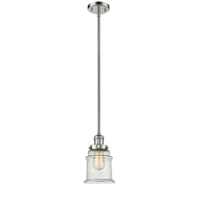 Donson 1-Light Mini Pendant Finish: Polished Nickel