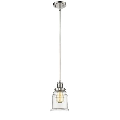 Greeley 1-Light Mini Pendant Finish: Polished Nickel