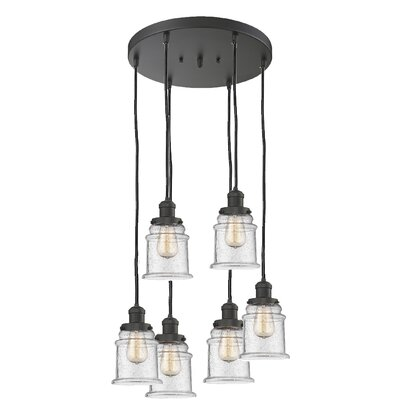 Greeley 6-Light Cluster Pendant Finish: Oil Rubbed Bronze