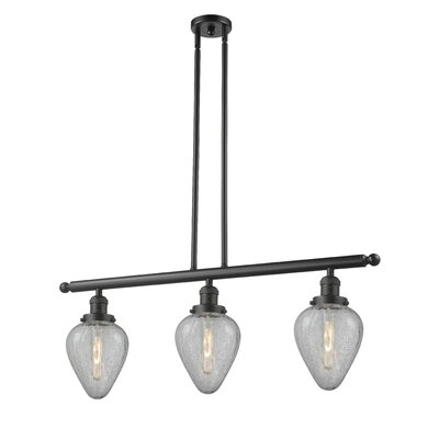 Bontrager 3-Light Kitchen Island Pendant Finish: Oil Rubbed Bronze