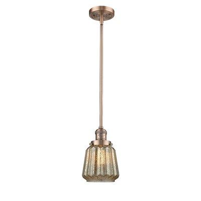 Vinson 1-Light Mini Pendant Finish: Antique Copper