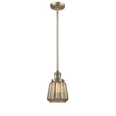 Vinson 1-Light Mini Pendant Finish: Brushed Brass
