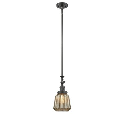 Vinson 1-Light Mini Pendant Finish: Oiled Rubbed Bronze