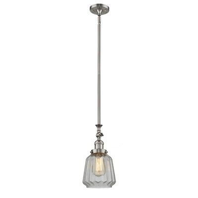 Vinson 1-Light Mini Pendant Finish: Brushed Satin Nickel