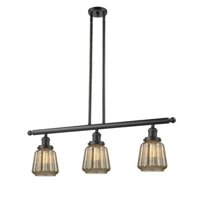 Vinson 3-Light Kitchen Island Pendant Finish: Oil Rubbed Bronze