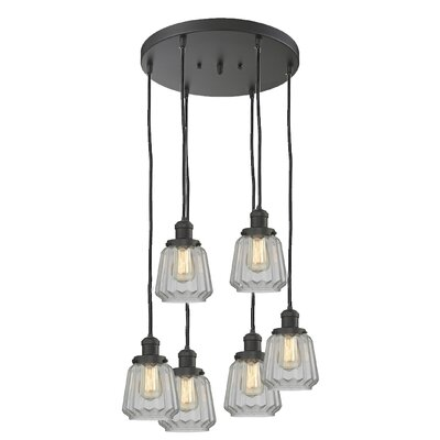 Vinson 6-Light Cluster Pendant Finish: Oil Rubbed Bronze