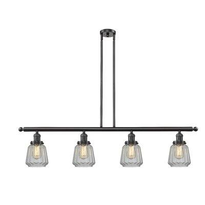 Vinson 4-Light Kitchen Island Pendant Finish: Oil Rubbed Bronze