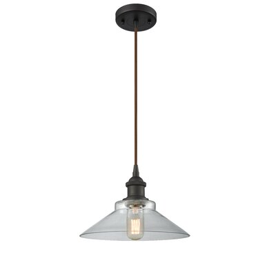 Nash 1-Light Mini Pendant Color: Oil Rubbed Bronze