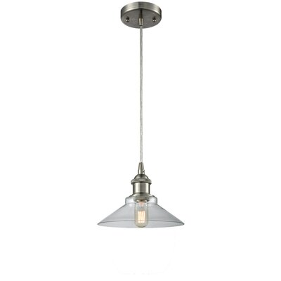 Nash 1-Light Mini Pendant Color: Brushed Satin Nickel