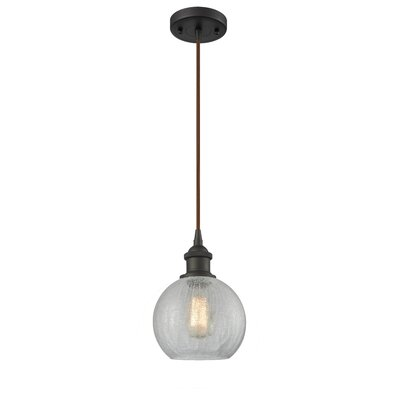 Garduno 1-Light Mini Pendant Finish: Oil Rubbed Bronze