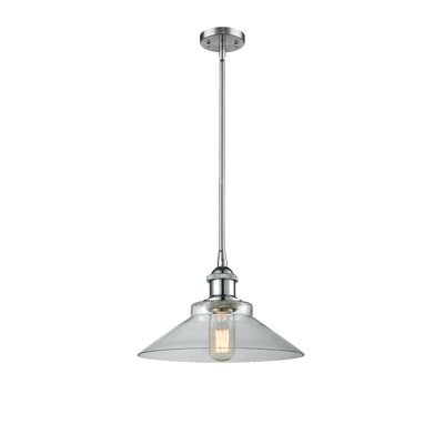 Nash 1-Light Mini Pendant Color: Polished Chrome