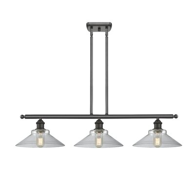 Nash 3-Light Kitchen Island Pendant Color: Oil Rubbed Bronze