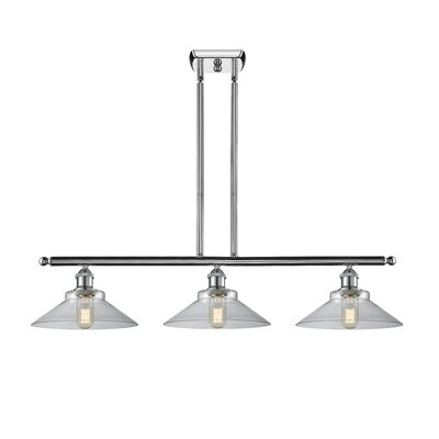 Nash 3-Light Kitchen Island Pendant Color: Polished Chrome