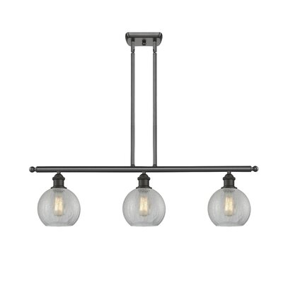 Garduno 3-Light Kitchen Island Pendant Finish: Oiled Rubbed Bronze