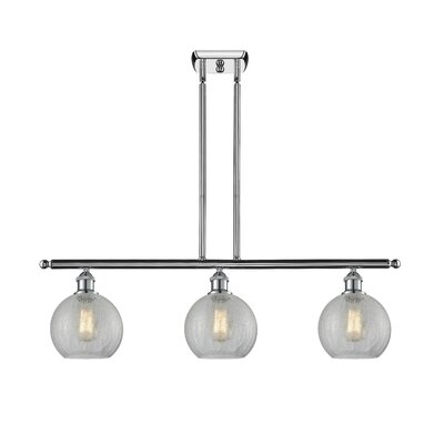 Garduno 3-Light Kitchen Island Pendant Finish: Polished Chrome