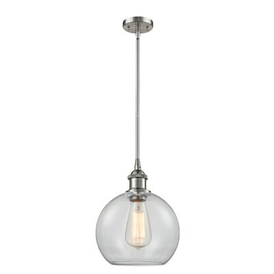 Garduno 1-Light Mini Pendant Finish: Brushed Satin Nickel