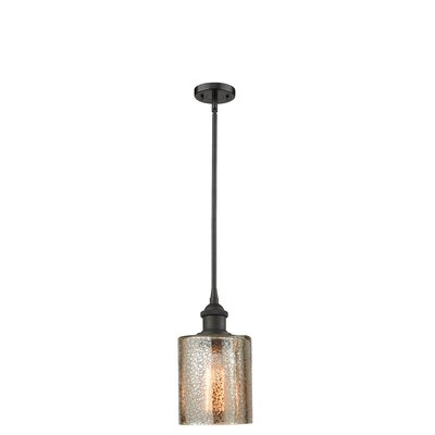 Inglestone Common 1-Light Globe Pendant Finish: Oil Rubbed Bronze