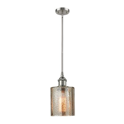Inglestone Common 1-Light Globe Pendant Finish: Brushed Satin Nickel