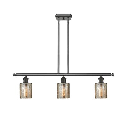 Inglestone Common 3-Light Kitchen Island Pendant Finish: Oil Rubbed Bronze