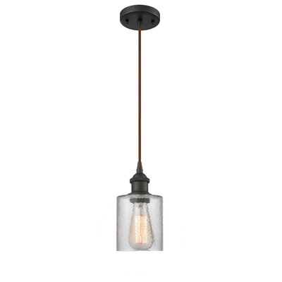 Inglestone Common 1-Light Mini Pendant Finish: Oil Rubbed Bronze