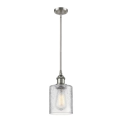 Inglestone Common 1-Light Mini Pendant Finish: Brushed Satin Nickel