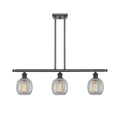 Raye 3-Light Kitchen Island Pendant Finish: Oiled Rubbed Bronze