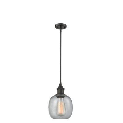 Raye 1-Light Mini Pendant Finish: Oiled Rubbed Bronze
