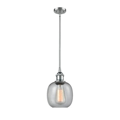 Raye 1-Light Mini Pendant Finish: Polished Chrome