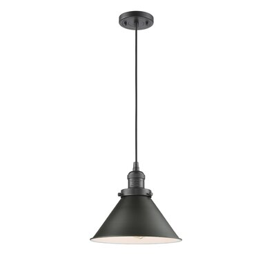 Doolittle 1-Light Mini Pendant Finish: Oiled Rubbed Bronze