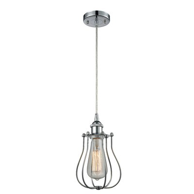 Amett 1-Light Mini Pendant Finish: Polished Chrome