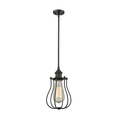 Amett 1-Light Mini Pendant Finish: Oiled Rubbed Bronze