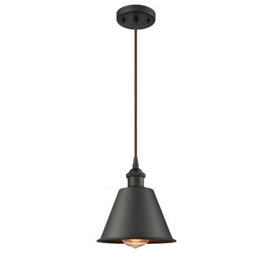 Nakayama 1-Light Mini Pendant Color: Oil Rubbed Bronze
