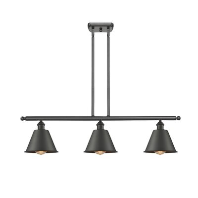 Harlan 3-Light Kitchen Island Pendant Finish: Oiled Rubbed Bronze