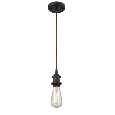 Briele 1-Light Mini Pendant Finish: Oiled Rubbed Bronze