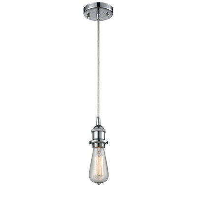 Briele 1-Light Mini Pendant Finish: Polished Chrome