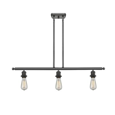Briele 3-Light Kitchen Island Pendant Finish: Oiled Rubbed Bronze