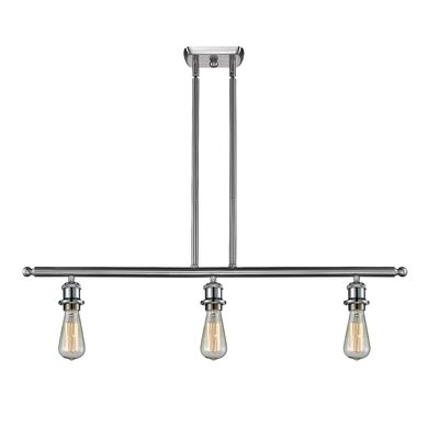 Briele 3-Light Kitchen Island Pendant Finish: Brushed Satin Nickel