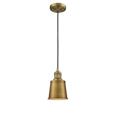 Carn 1-Light Mini Pendant Finish: Brushed Brass