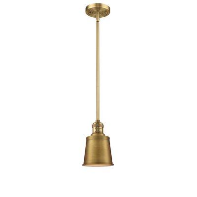 Carn 1-Light Mini Pendant Finish: Brushed Brass